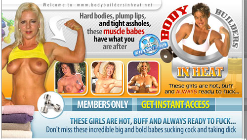 Bodybuilders in Heat main page