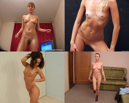 Nude dancing exercises