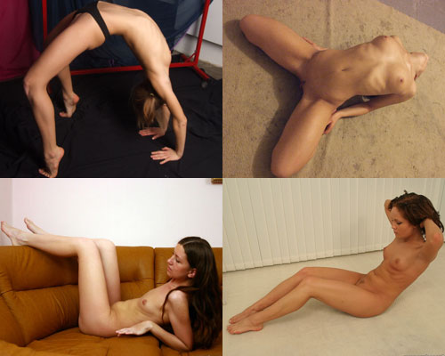 This sub-category of Nude Sports category contains nude exercises sets.