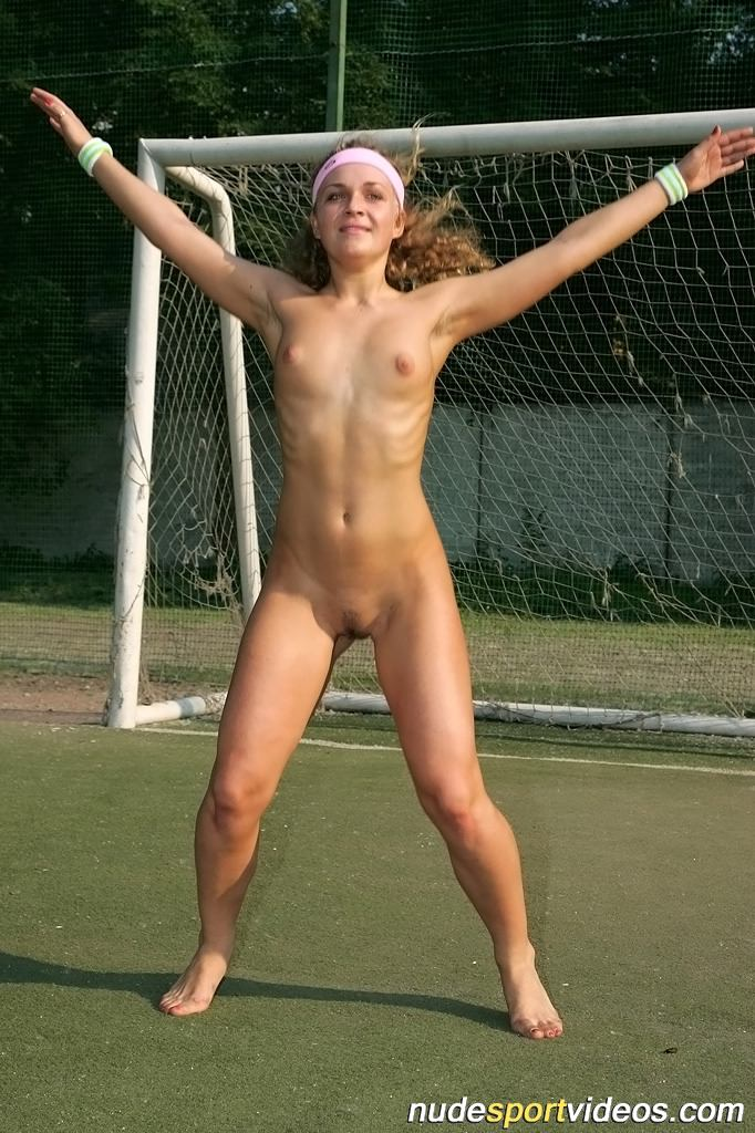 ... nude aerobics · girl does jumps nude ...