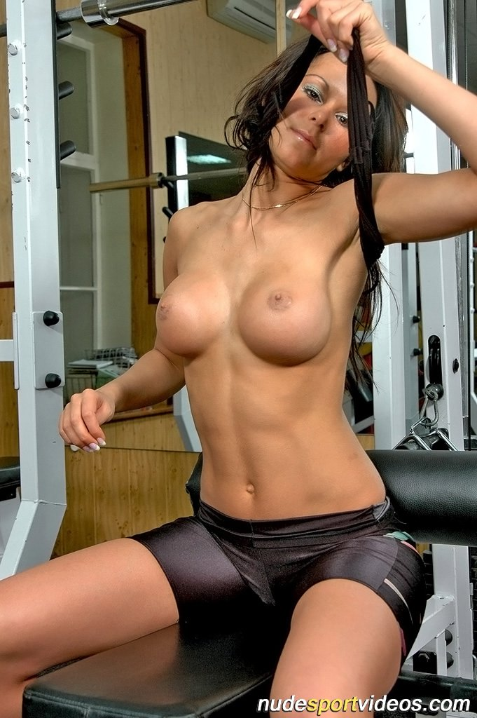 Fitness boobs nude