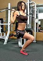 pulling weights nude exercises