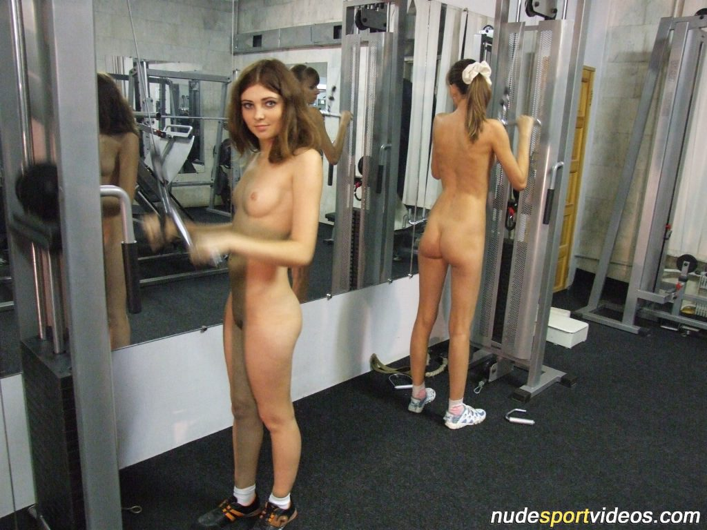 naked women on a train