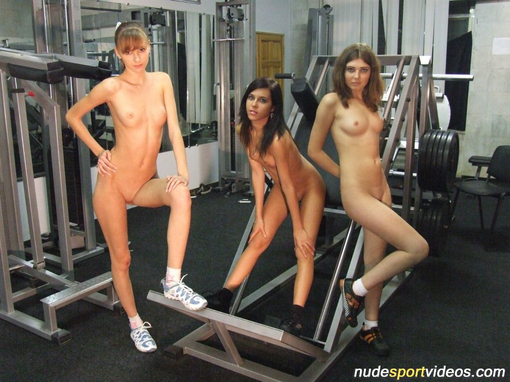 young gym girl nude