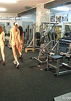 girls leave gym