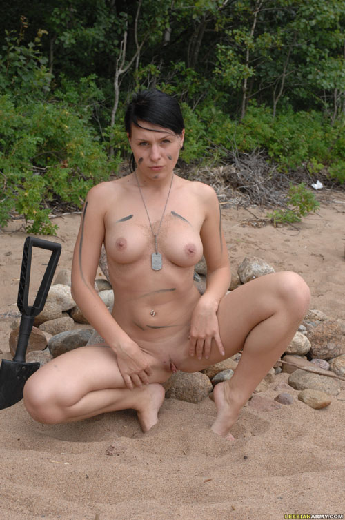 Sexy military girls nude theme