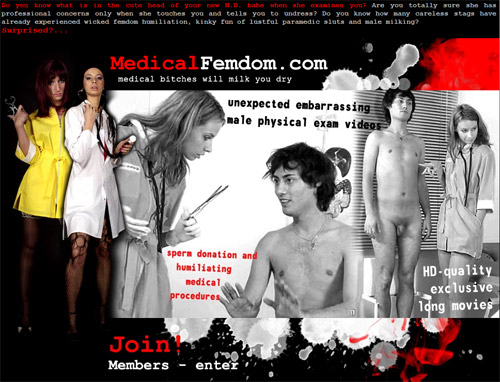 Medical Femdom main page