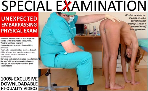 Special Examination main page